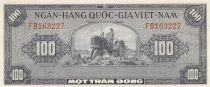 Vietnam du Sud 100 Dong Tracteur - Oiseau - 1955