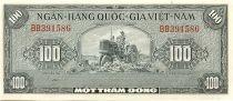 Vietnam du Sud 100 Dong Tracteur - Oiseau