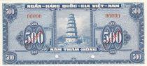 Vietnam du Sud 500 Dong Pagode - 1955 - Spécimen -P.10s2