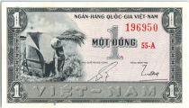 Vietnam South 1 Dong,  Paysan - 1955 - SPL - P.11
