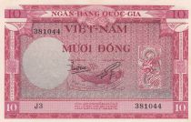Vietnam South 10 Dong  1955 - UNC - P.3