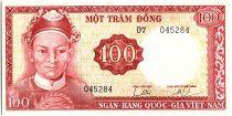 Vietnam South 100 Dong, Le Van Duyet - Gateway - 1966 - P.19 b