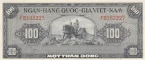 Vietnam South 100 Dong 1955 - XF to AU - P.8