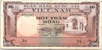 Vietnam South 100 Dong 1996 - VF - Serial D.4 - P.18