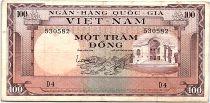 Vietnam South 100 Dong 1996 - VF - Serial D.4 - P.18