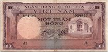 Vietnam South 100 Dong 1996 - VF - Serial J.1 - P.18