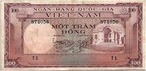 Vietnam South 100 Dong 1996 - VF - Serial T.1 - P.18