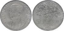 Vietnam South 50 XU - Ngo Dinh Diem - 1963 - AU