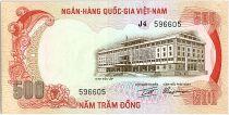 Vietnam South 500 Dong, Palace of independence - Tiger - 1972 - P.33