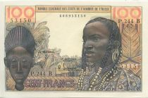 West AFrican States 100 Francs Mask