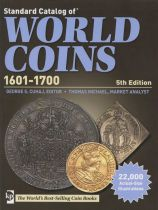 World Coins 1601-1700 - 5th edition 2012