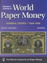 World Paper Money, 1368-1960, 13th edition 2010