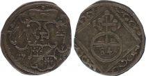 Wurzburg 1/84 Gulden Armoiries - 1715 F