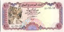 Yémen (République Arabe) 100 Rials, Ponceau - Ville de Sana - 1993 - P.28