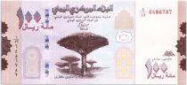 Yémen (République Arabe) 100 Rials Arbres - Paysage  2018 (2019)- Neuf