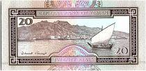 Yémen (République Arabe) 20 Rials, Sculpture en marbre  - 1990 - P.26 b