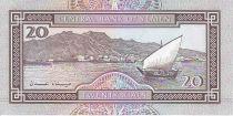 Yémen (République Arabe) 20 Rials Sculture en marbre - Bateau, port