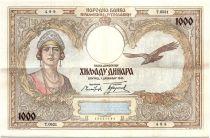 Yougoslavie 1000 Dinara Reine Marie - 1931