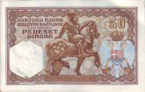Yougoslavie 50 Dinara Alexandre I