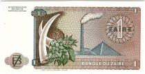 Zaïre 1 Zaire Pdt Mobutu - Pyramide - 1977