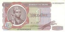 Zaïre 1 Zaire Pdt Mobutu - Pyramide