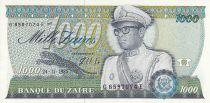 Zaire 1000 Zaires - President Sese Seko Mobutu - Civic building - 1985