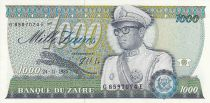 Zaire 1000 Zaires - Presidente Sese Seko Mobutu - Edificio - 1985