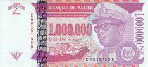Zaire 1.000.000 Nvx Zaires -  Presidente Sese Seko Mobutu - Mina - 1996