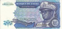 Zaire 200000 Zaires -  President Sese Seko Mobutu - Civic building - 1992