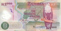 Zambia 1000 Kwacha Eagle