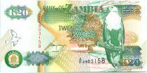 Zambia 20 Kwacha Eagle - Gouv. Building 1992