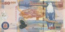 Zambia 50000 Kwacha Eagle