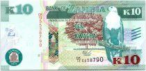Zambie 10 Kwacha Aigle - Porc Epic 2015