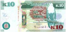 Zambie 10 Kwacha Aigle - Porc Epic