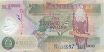 Zambie 1000 Kwacha Aigle