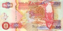 Zambie 50 Kwacha Aigle - Fonderie 2006