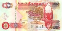 Zambie 50 Kwacha Aigle - Fonderie 2009