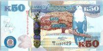 Zambie 50 Kwacha Aigle - Leopard - 2012