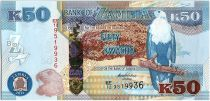 Zambie 50 Kwacha Aigle - Leopard 2014