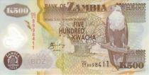 Zambie 500 Kwacha Aigle - Coton 2005