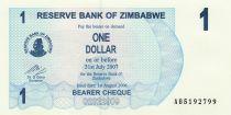 Zimbabwe 1 Dollar Womens - 2006