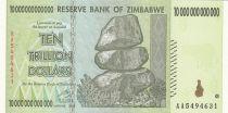 Zimbabwe 10 000 000 000 000 Dollars 2008 - Chiremba, Village, Tour moderne