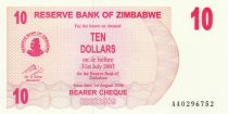 Zimbabwe 10 Dollars Villageoises - 2006