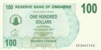 Zimbabwe 100 Dollar Mountain - 2006
