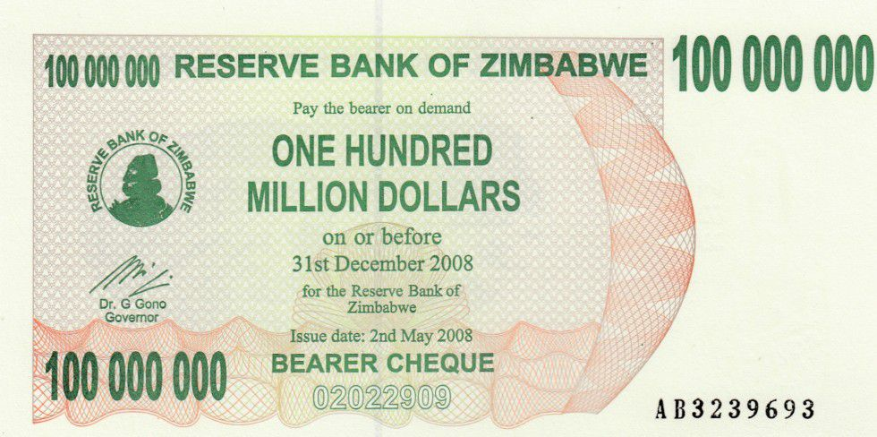 Zimbabwe 100 Million de $ de $, Villageoises