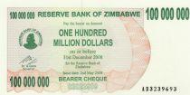 Zimbabwe 100 Million de $ de $, Women