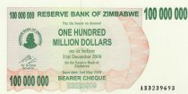 Zimbabwe 100 Million de $ de $, Women