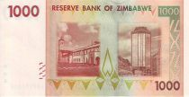 Zimbabwe 1000 Dollar Chiremba