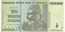 Zimbabwe 10000 Millard de $ de $, Chiremba - 2008
