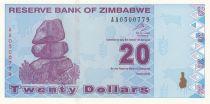 Zimbabwe 20 Dollars Chiremba - Factory - 2009